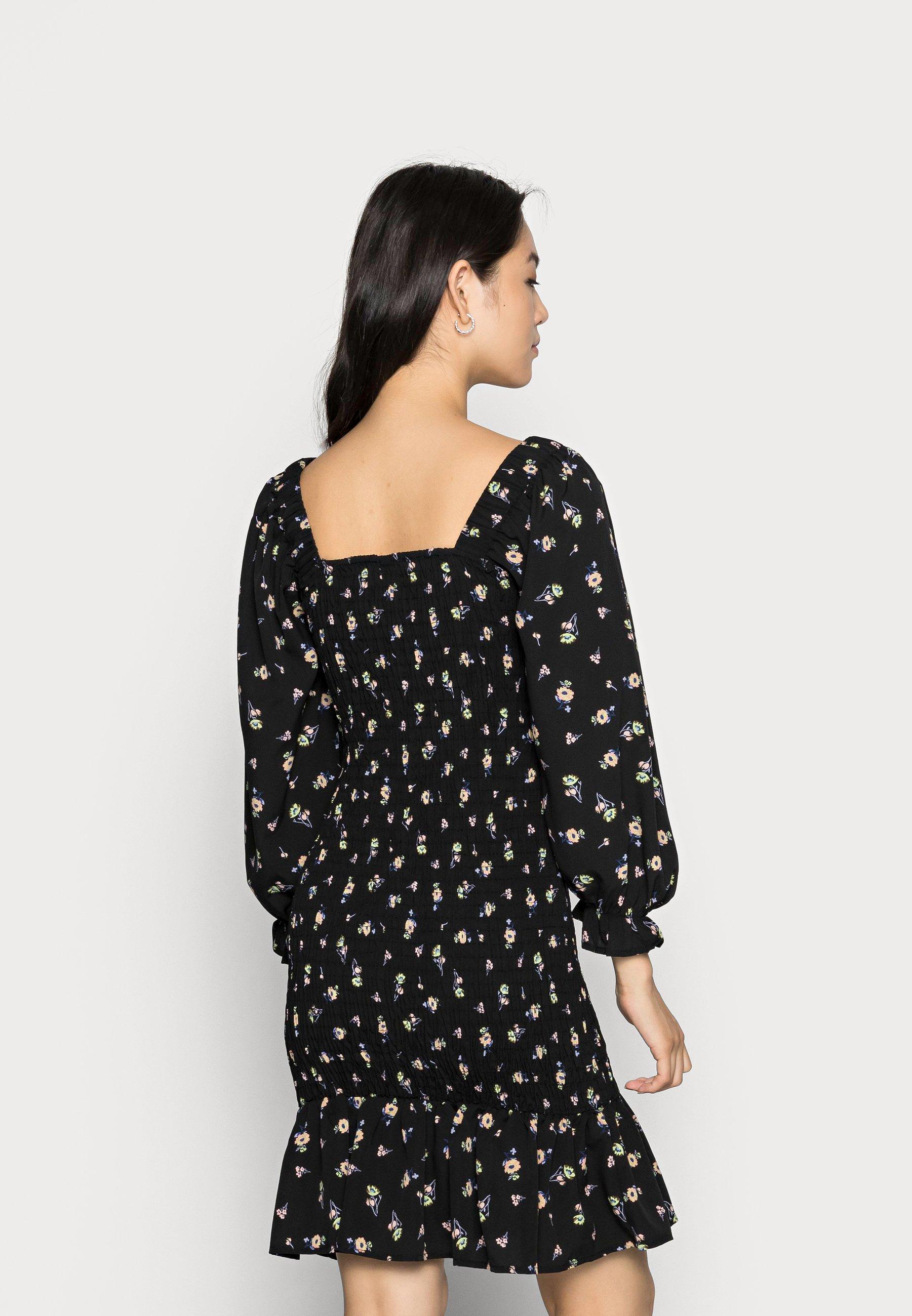 Damen VMELLIE SMOCK SHORT DRESS - Freizeitkleid