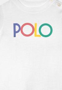 Polo Ralph Lauren - FLOUNCE DAY DRESS SET - Jersey dress - white - 3