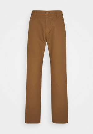 RUCK SINGLE KNEE PANT DEARBORN - Trousers - hamilton brown rinsed