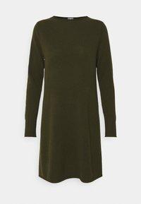 FTC Cashmere - DRESS - Jumper dress - bronze green - 4