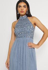 Lace & Beads - SEREN MAXI - Maxikjole - dusty blue - 3