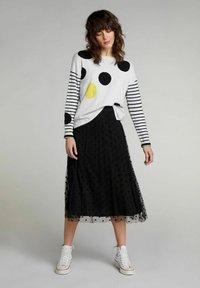 Oui - A-line skirt - black - 1