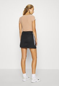 adidas Originals - SKIRT - Mini skirt - black - 2