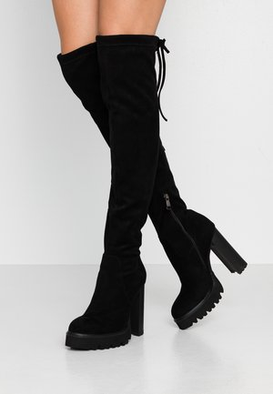 RENNA - High heeled boots - black
