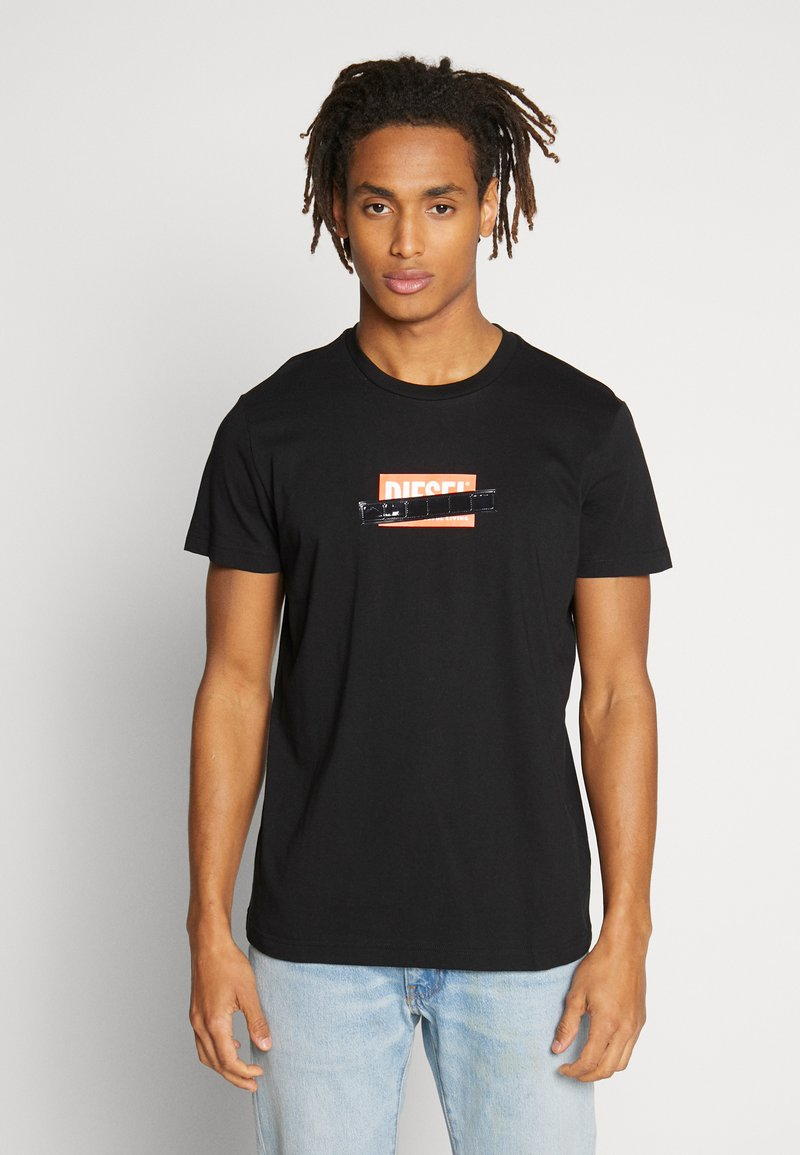 Diesel - DIEGO - T-shirt con stampa - black