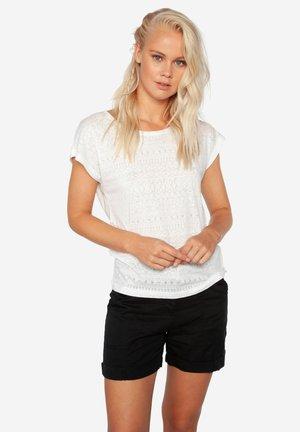 HELSTA  - Print T-shirt - off-white