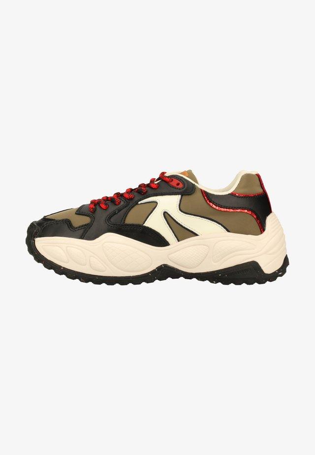Sneakers laag - black multi