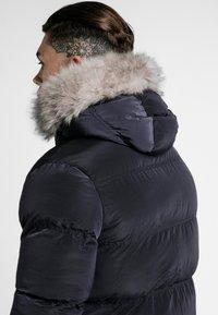 SIKSILK - STOP PUFF - Winter coat - navy - 4