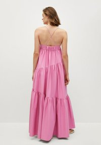 Mango - MIT RÜSCHEN - Maxi dress - rosa - 0