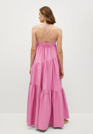 MIT RÜSCHEN - Maxi dress - rosa