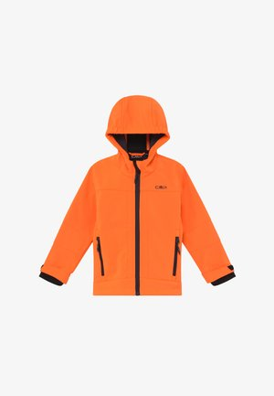 KID FIX HOOD UNISEX - Soft shell jacket - flash orange
