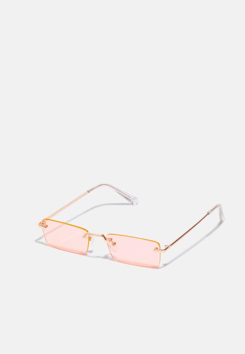 Pier One - UNISEX - Sunglasses - rose gold-coloured