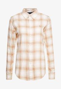 Polo Ralph Lauren - GEORGIA CLASSIC - Camisa - cream/sand - 4