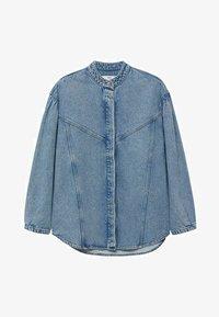 Mango - Denim jacket - middenblauw - 7