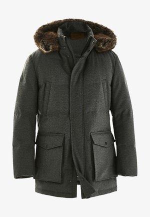 Down coat - dark grey