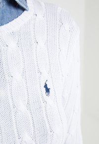 Polo Ralph Lauren - JULIANNA  - Jumper - white - 5