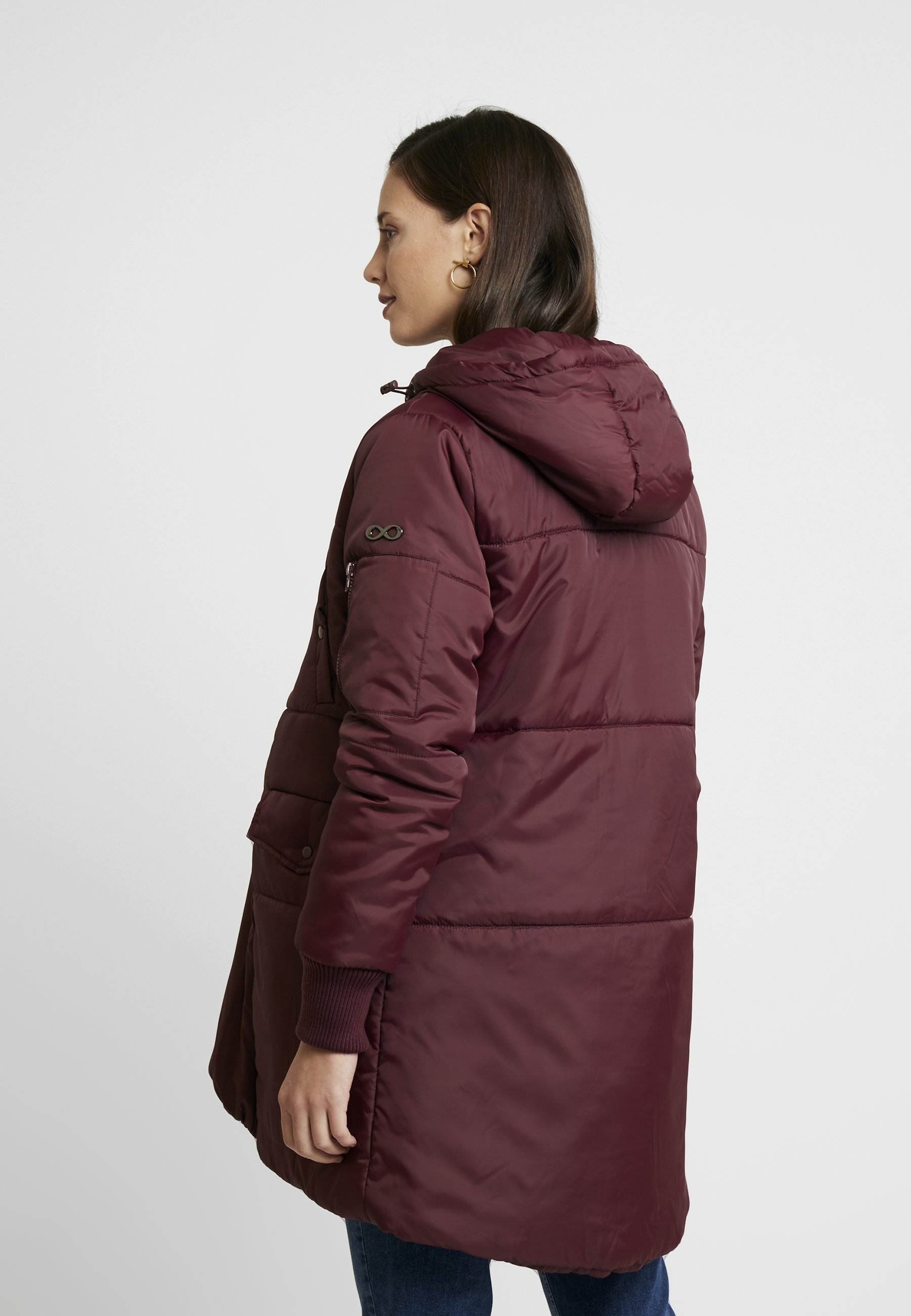 Cost Wholesale Modern Eternity FAITH 3-IN-1 THIGH BOMBER PUFFER COAT - Winter coat - burgandy | women's clothing 2020 iqKHB