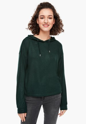 Langarmshirt - dark green melange