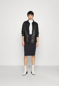 Modström - TUTTI  - Pencil skirt - navy noir - 1