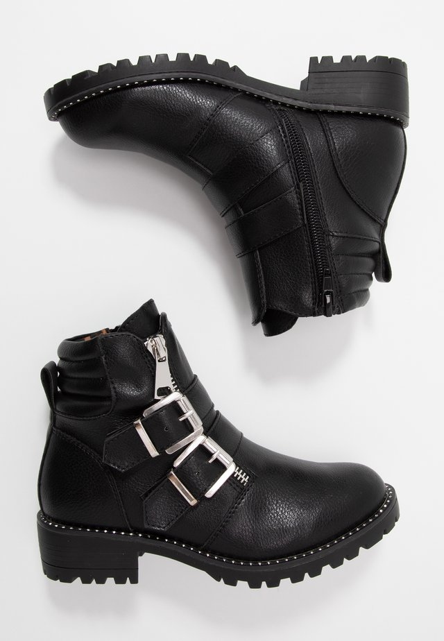 JJAIPOR - Cowboy/biker ankle boot - black