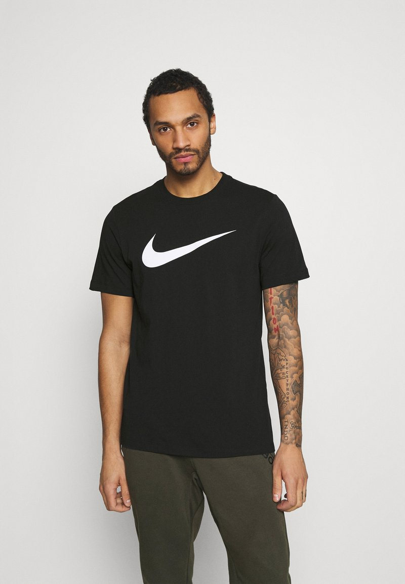 Nike Sportswear - TEE ICON - T-shirt med print - black/white