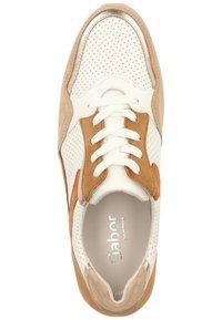 Gabor - Sneaker low - weiss/beige k(rex) - 3