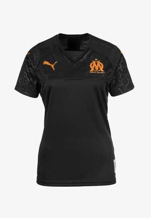 OLYMPIQUE DE MARSEILLE WOMEN'S REPLICA THIRD VROUW - Print T-shirt - black orange popsicle