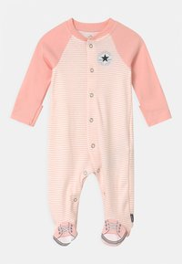 Converse - CHUCK TAYLOR ALL STAR FOOTED - Sleep suit - storm pink - 0