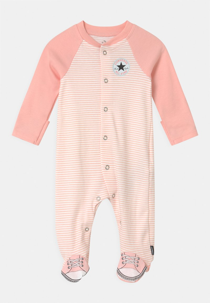 Converse - CHUCK TAYLOR ALL STAR FOOTED - Sleep suit - storm pink