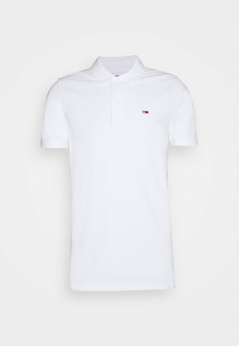 Tommy Jeans - CLASSICS SOLID  - Polo shirt - white