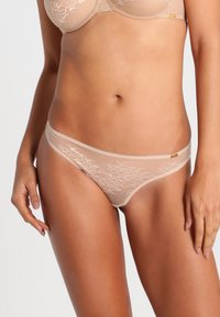 Gossard - GLOSSIES LACE  - Thong - nude - 0