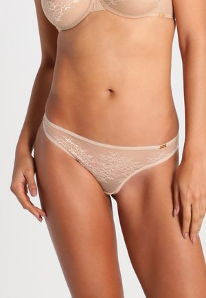 GLOSSIES THONG - String - nude