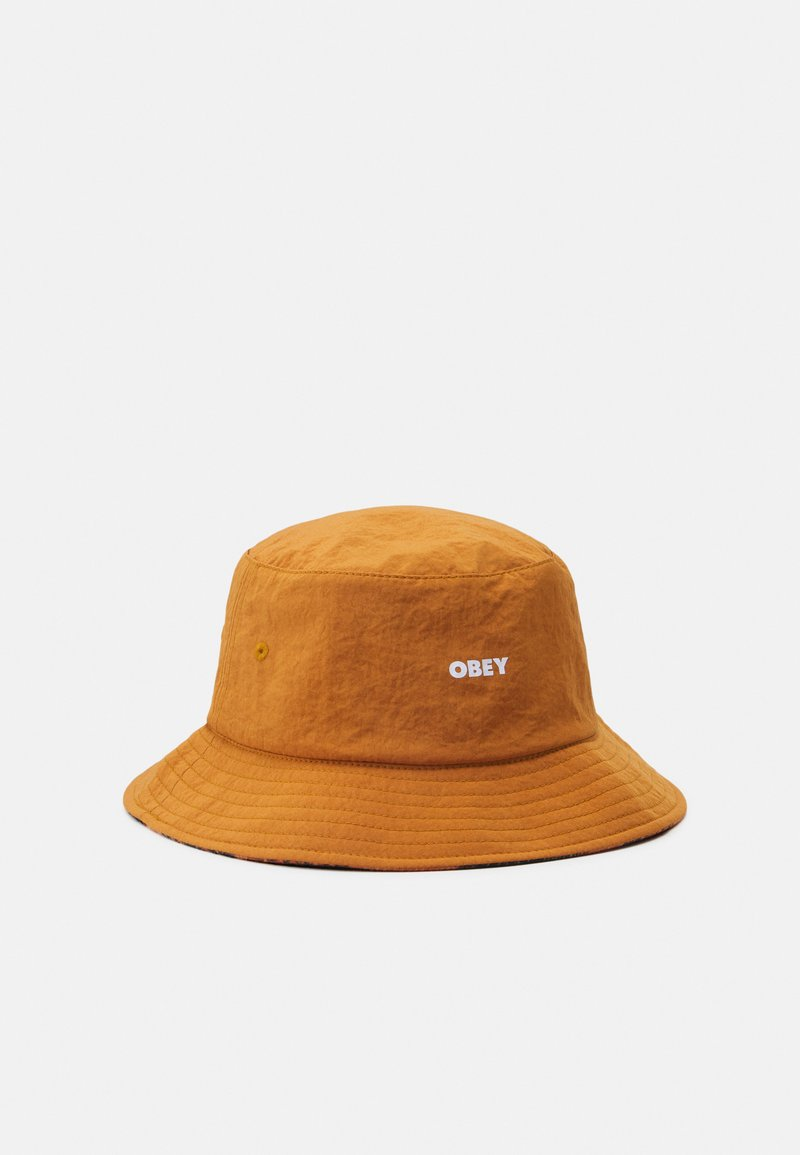 Obey Clothing - REVERSIBLE BUCKET HAT UNISEX - Šešir - chili/multicolor