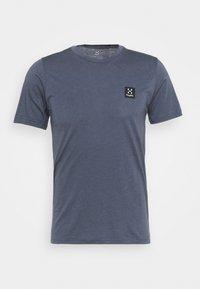 Haglöfs - TEE MEN - Basic T-shirt - dense blue - 4