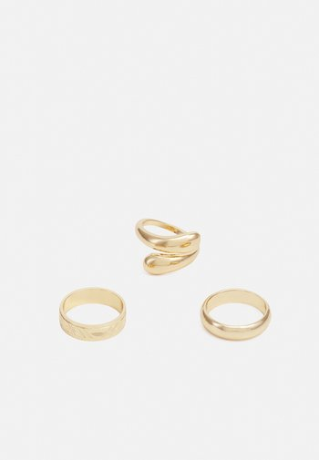 PCNIPPA 3 PACK - Ring - gold-coloured