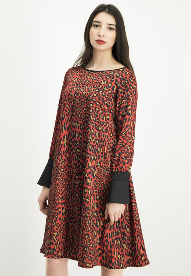 NABITA - Day dress - red