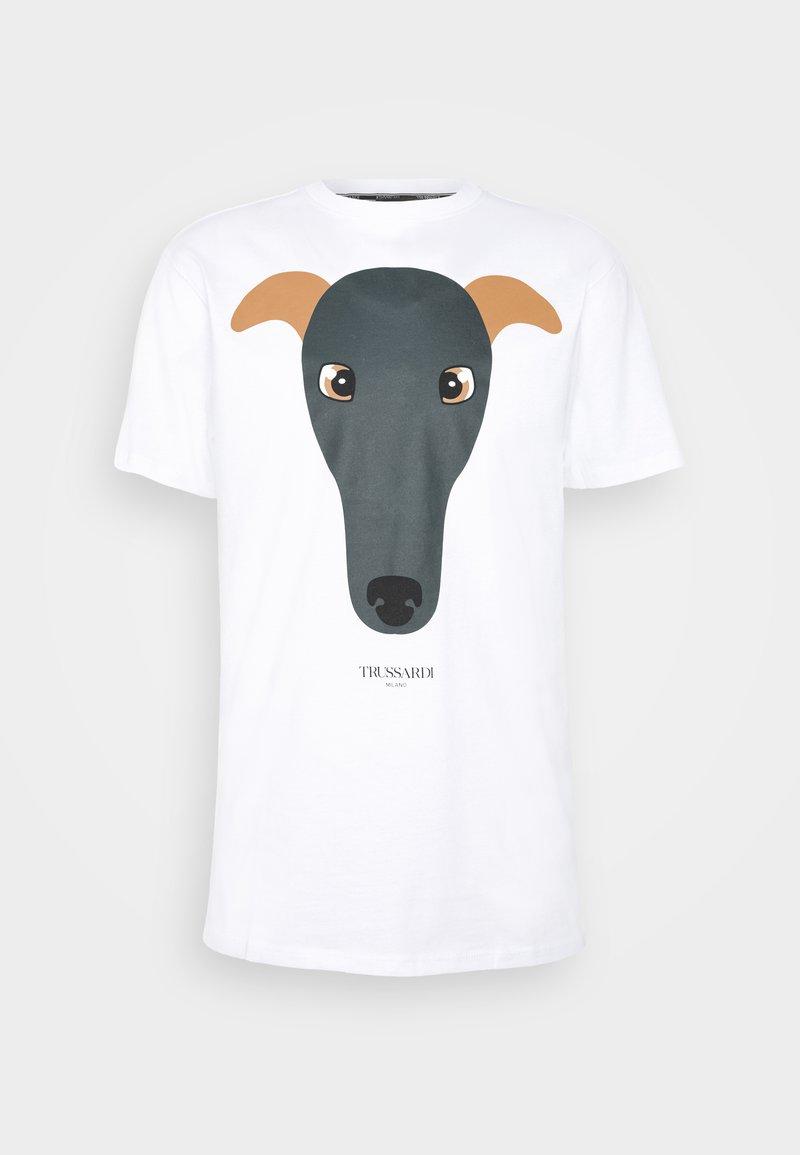 Trussardi - PURE - T-shirt con stampa - white
