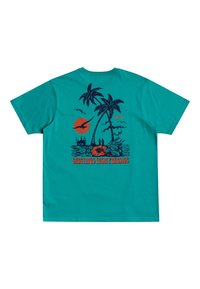 RVCA - Print T-shirt - turquoise - 1