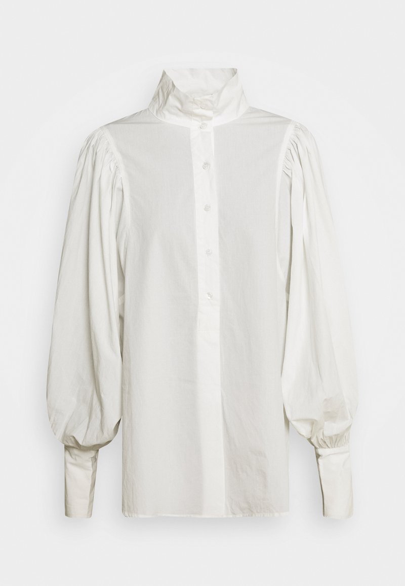 Gina Tricot - RIVER SHIRT - Button-down blouse - offwhite