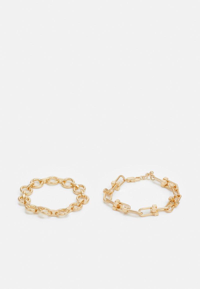 Pieces - PCBIONDIA BRACELET 2 PACK - Bracelet - gold-coloured