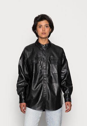 LISSY - Short coat - black