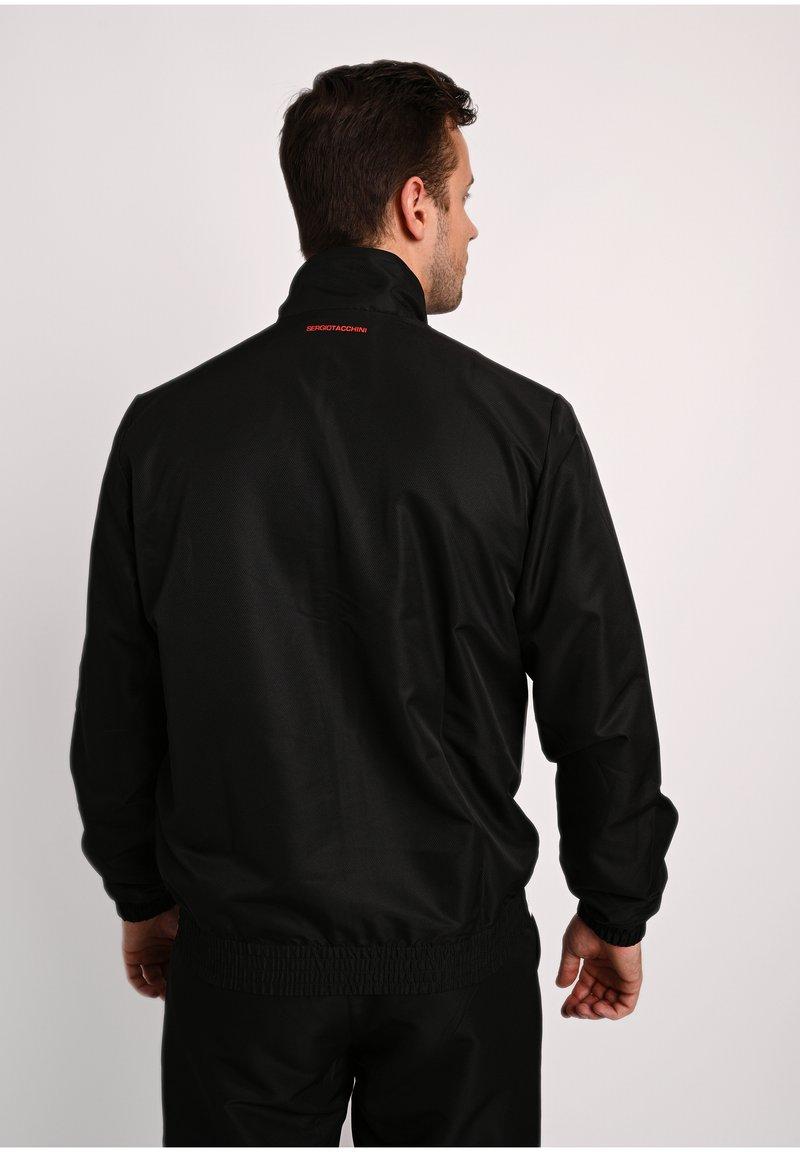 sergio tacchini BARON - Trainingsanzug - blk/floran/schwarz KQpEmZ