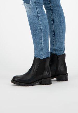 BORGEN - Boots à talons - black