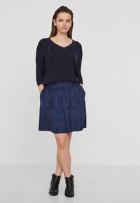 Noisy May - NMLAUREN  - A-line skirt - dark blue - 1