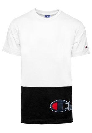 T-shirt print - wht-nbk (214208-ww001)