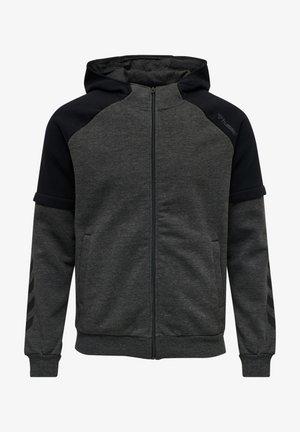 Sweatjakke /Træningstrøjer - dark grey melange