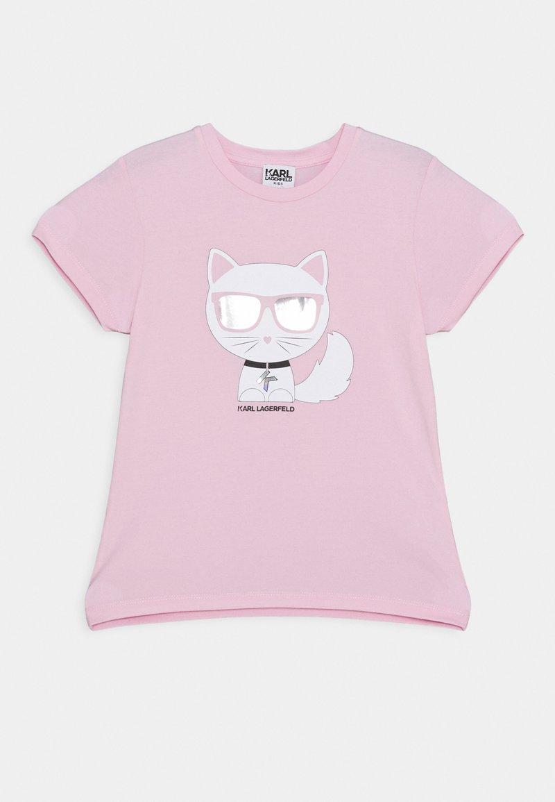 KARL LAGERFELD - SHORT SLEEVES TEE - T-shirt imprimé - pink