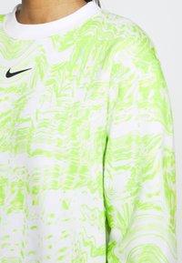 Nike Sportswear - Sudadera - white/light lemon - 4