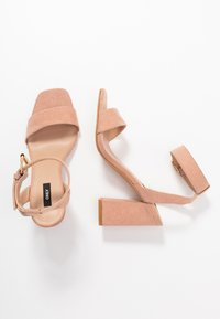 ONLY SHOES - ONLALYX  - Sandali con tacco - nude - 3