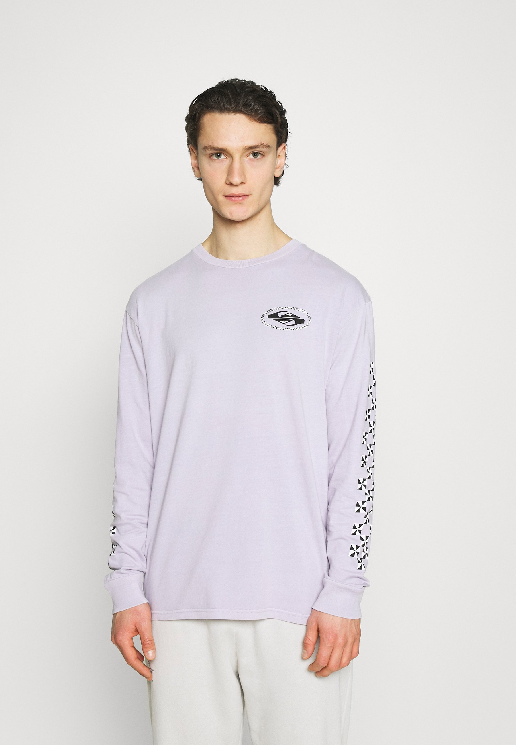 Men CHECK OUT - Long sleeved top